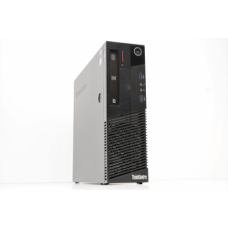 i5-4430 3000/4096/500(Sata)/Dvd-Rw/S/L/PCIE - Lenovo M83 (10AH) - Slim (LGA1150 / DDR3)